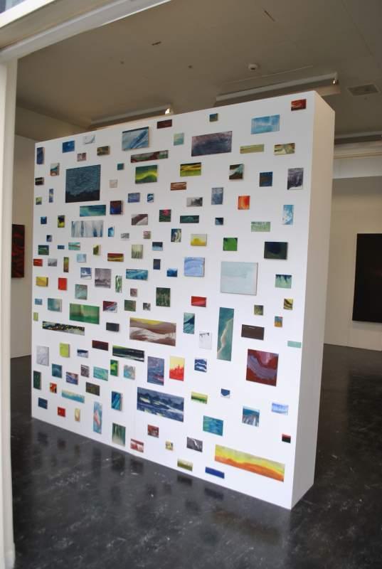 Eindexamententoonstelling, 2012, verschillende formaten, variërend van 5-50 cm, ei tempera op paneel