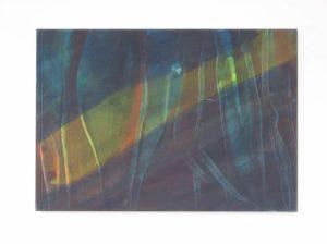 Verkocht: Z.t., 2012, 70×100 cm, ei tempera op doek