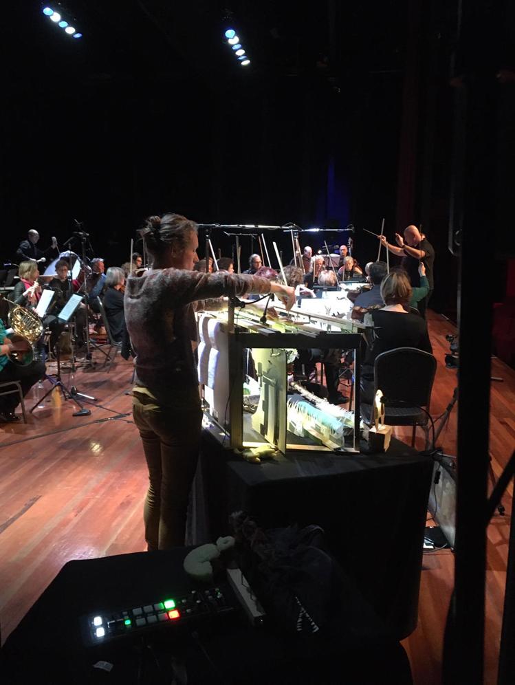 Repeteren met het orkest